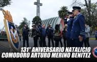 Chillán: 131° Aniversario Natalicio Comodoro Arturo Merino Benítez