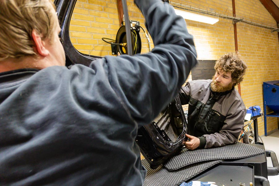 Motor og mekanik FGU skolen i Kongerslev