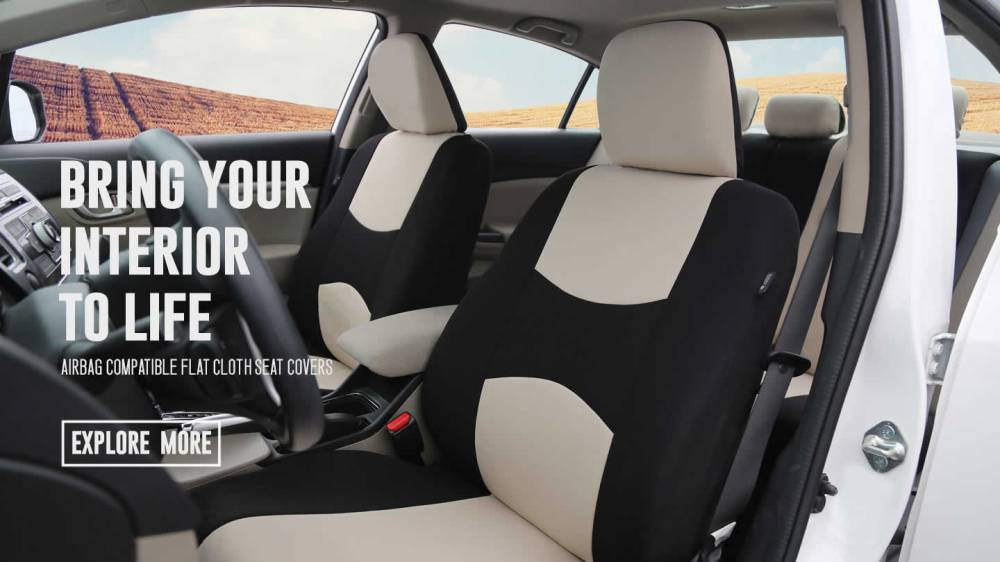 medium resolution of flat cloth seat covers banner