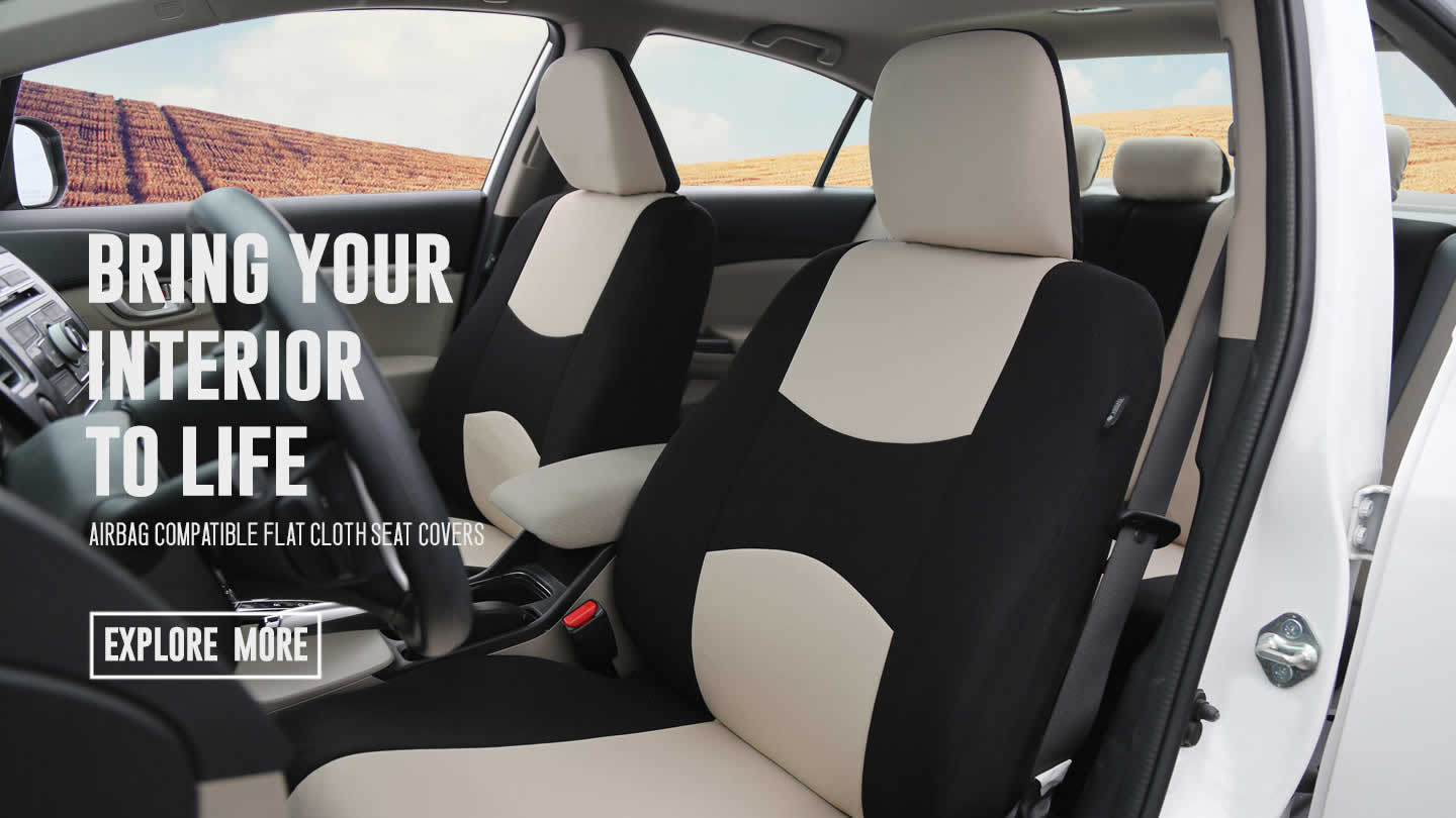 hight resolution of flat cloth seat covers banner