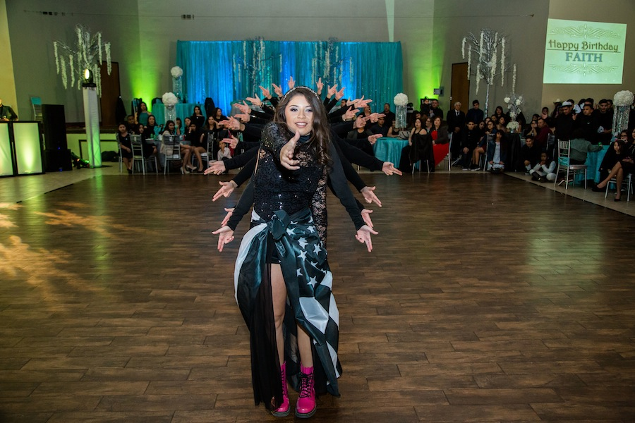 Quinceanera DJ Photos from January 2016