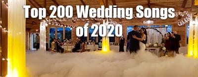 Top 200 Wedding Songs Of 2020