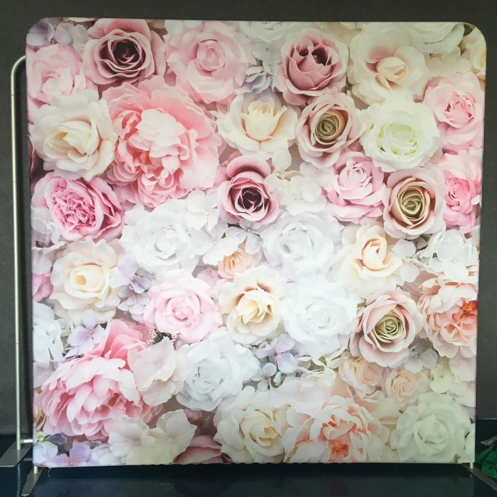 Pink White and Rose Roses, Great for Weddings and Quinceaneras
