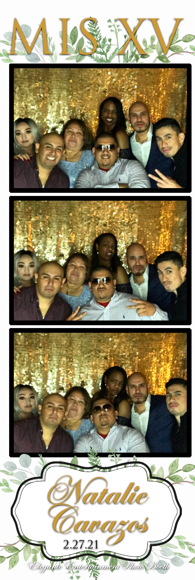 Photo Booth Strip 3 The Best DJ in Houston for FUN Dancing!!
