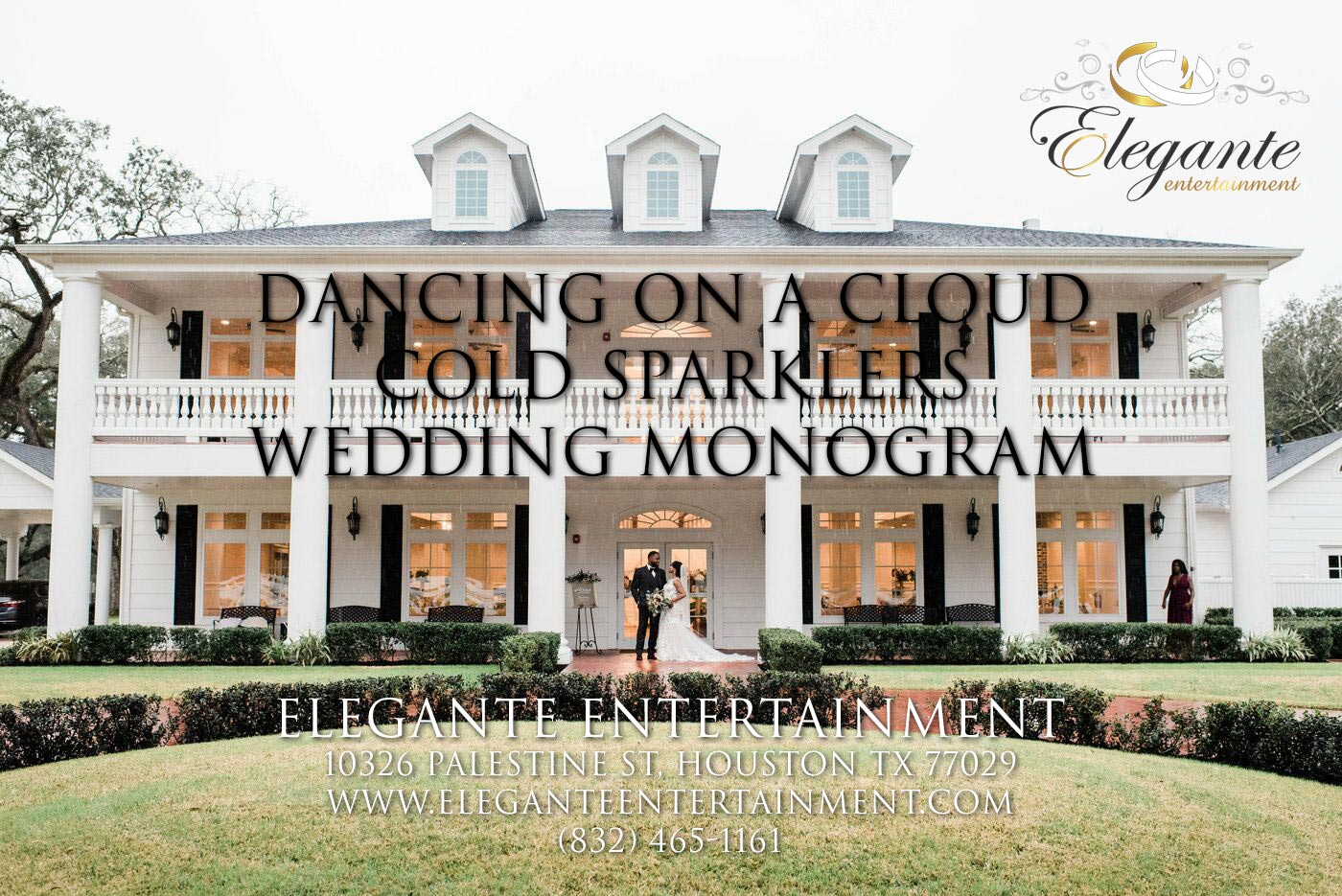 DJs Near Angleton TX Amazing Cold Sparklers, Dancing on a Cloud, and Monogram at the Springs in Angleton Tx - Magnolia Manor in 4K