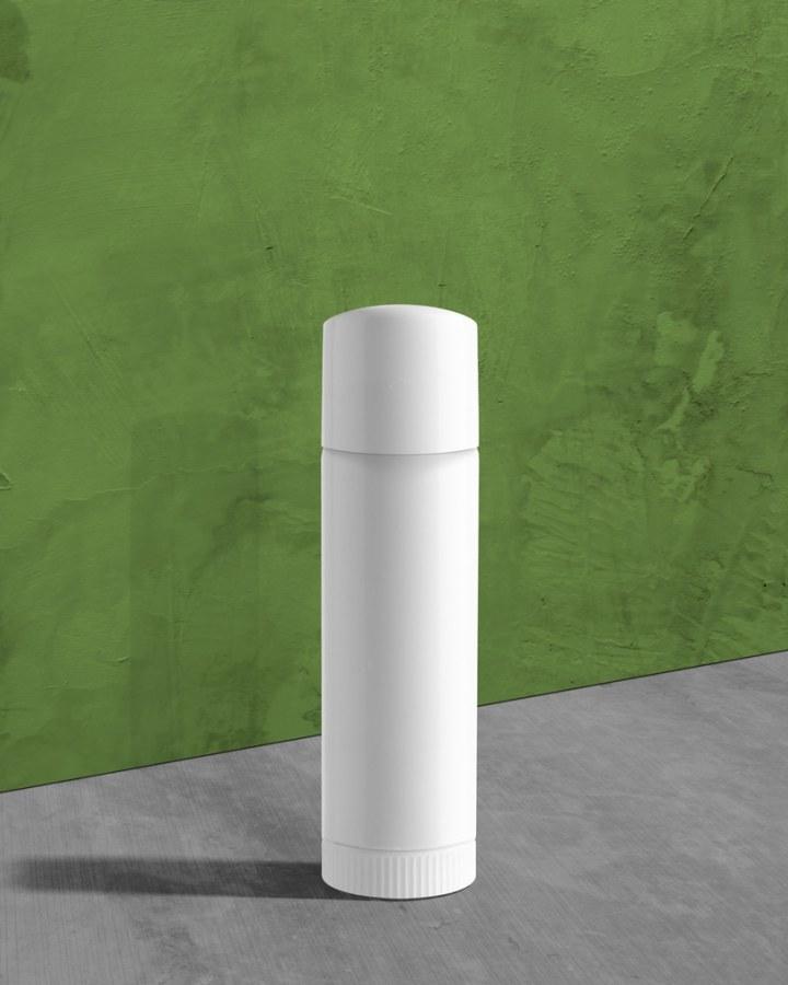 White Polypropylene Airless Pump Bottle