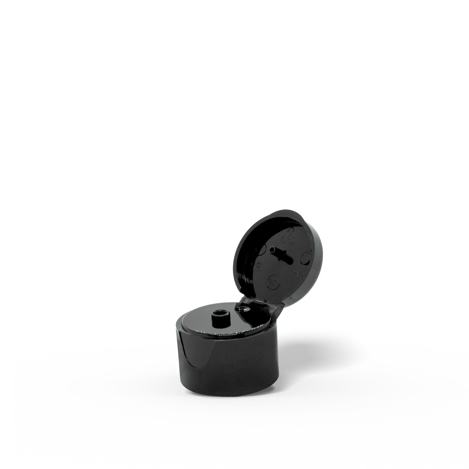 Black Flip Cap Pet Care Packaging