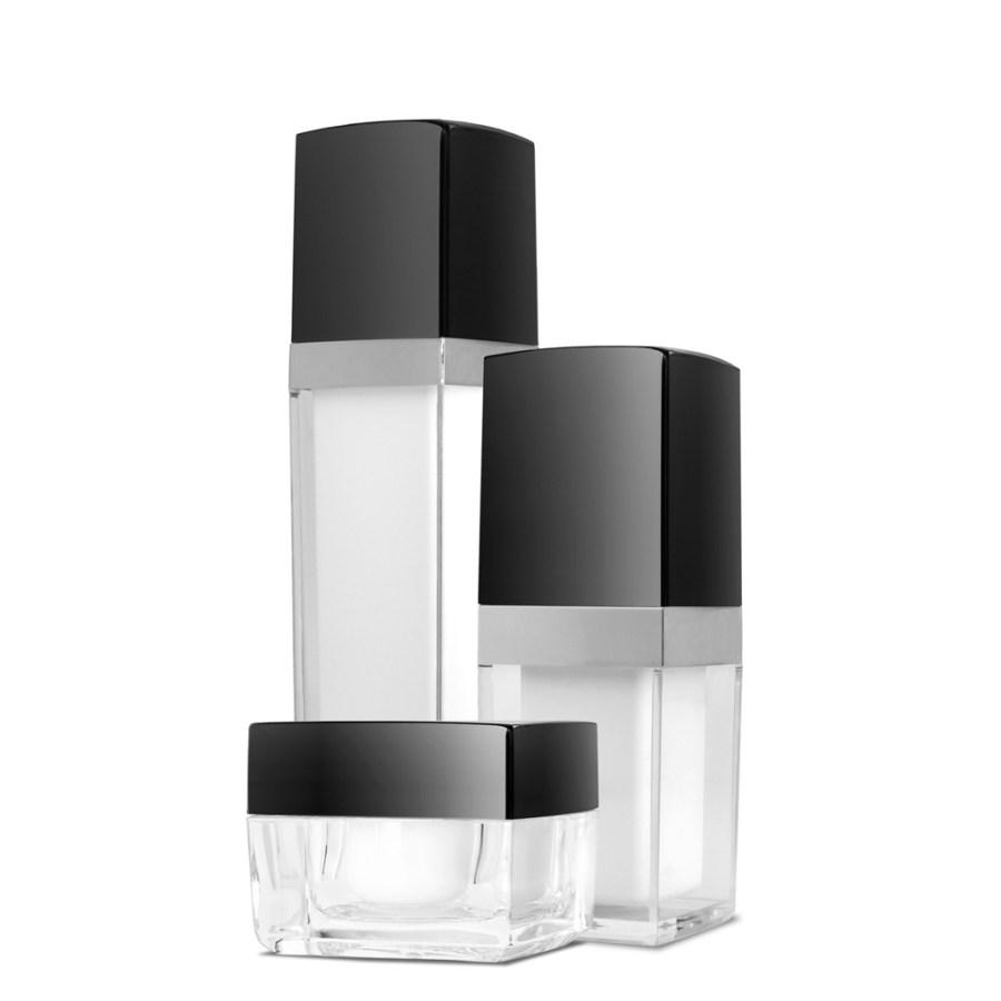 Acrylic Bottles Set Skin Care Packaging