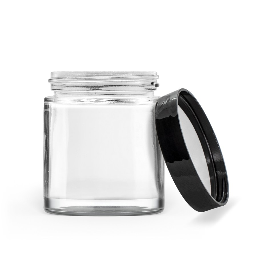 Straight Sided Jar Skin Care Packaging