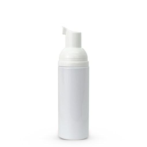 50 ml White PET Cylinder Foamer Bottle & Pump Set 2