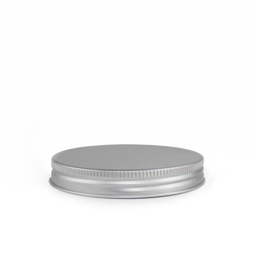 89-400 Silver Aluminum Screw Top Cap