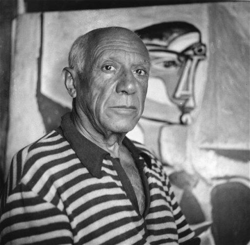 بابلو بيكاسو رسام ونحات وفنان تشكيلي اسباني