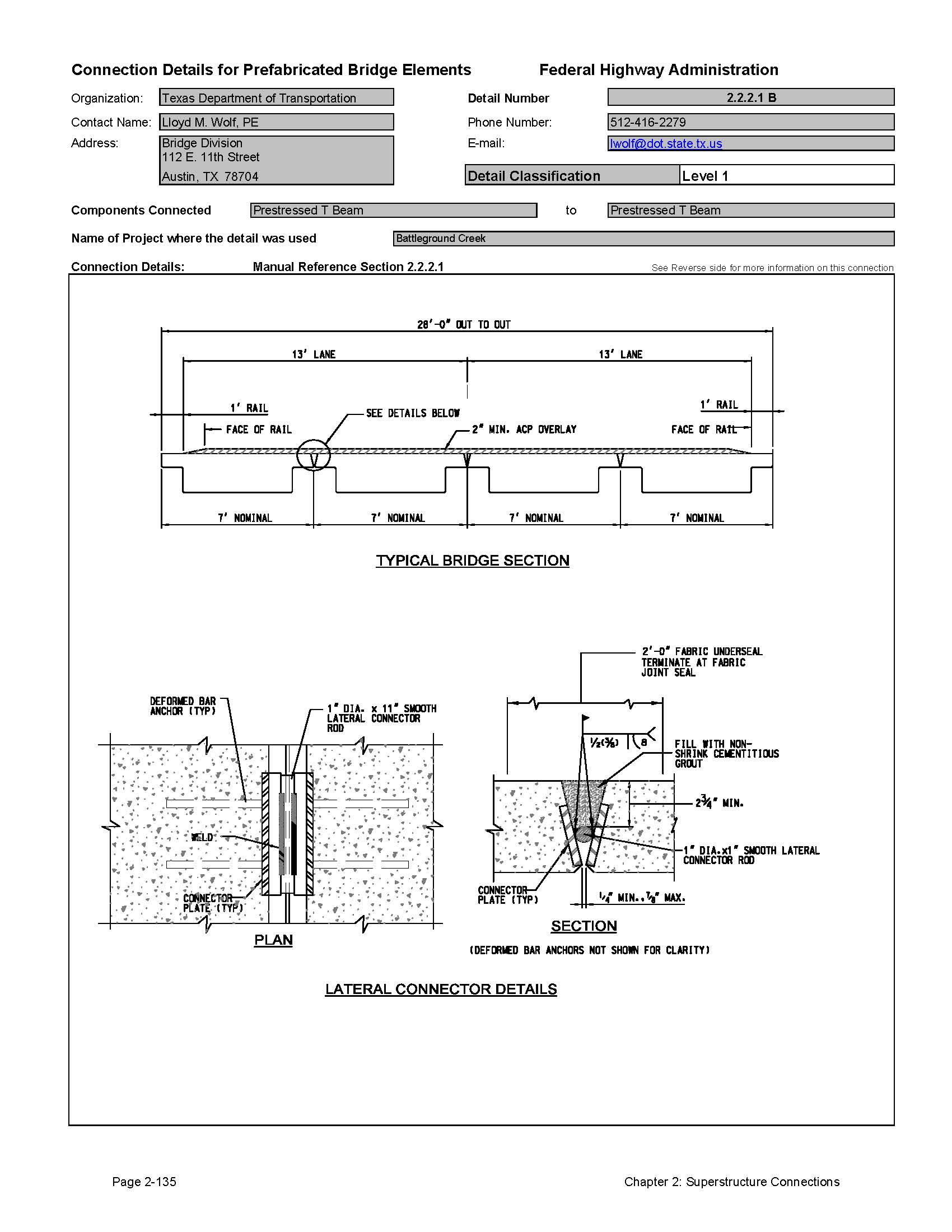 Calibration Worksheet Post Tensioning