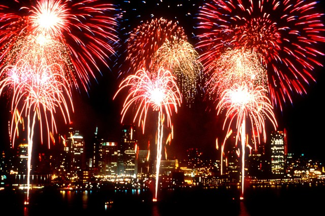Canada Day Firework images GIF
