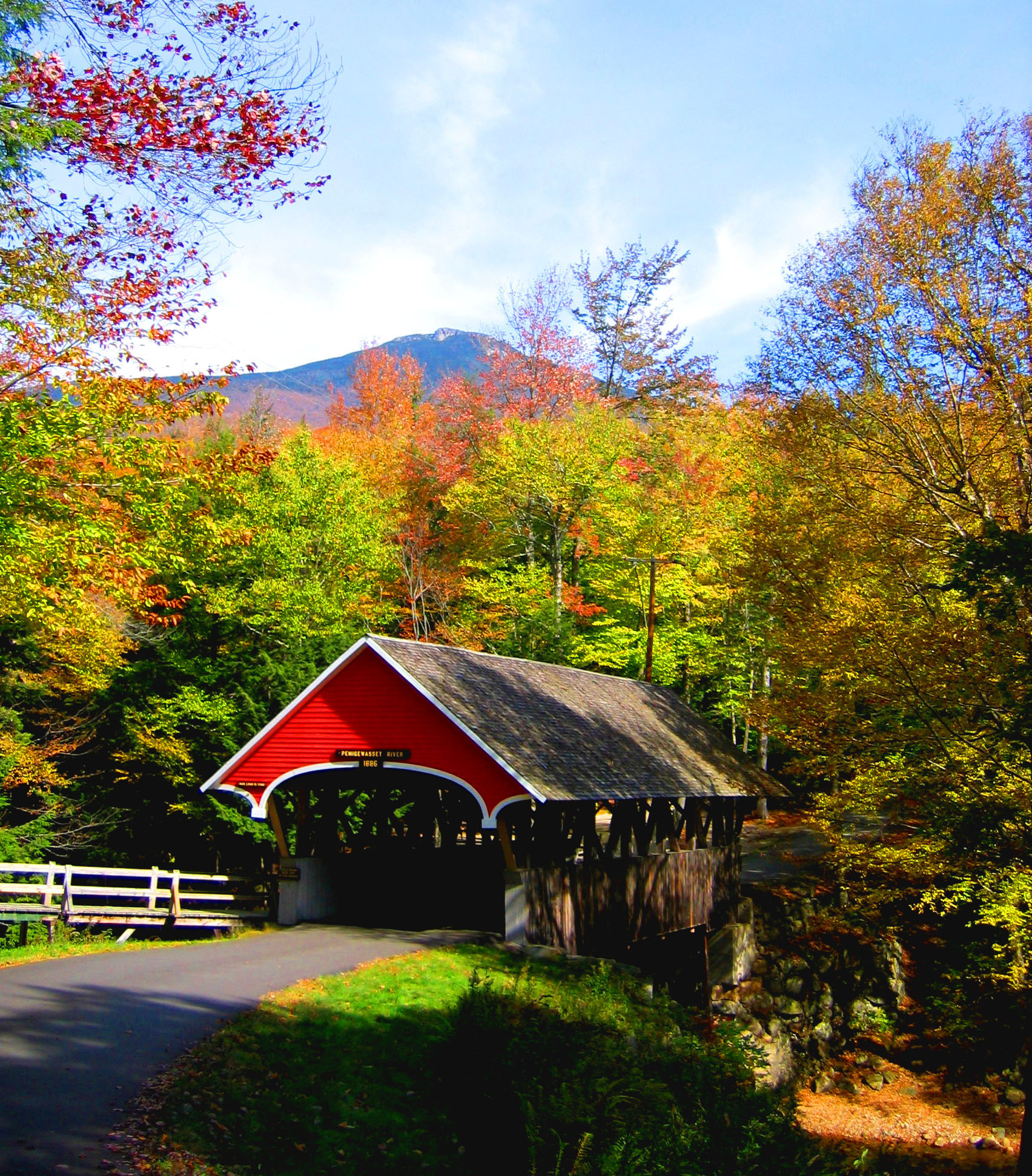 Fall Sunshine Wallpaper Kancamagus Scenic Byway All Photos America S Byways