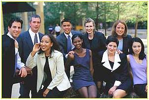 Group shot of 2007 Interns.