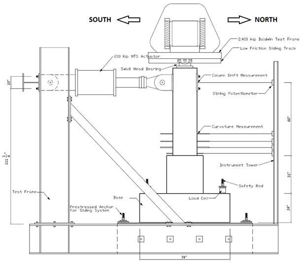 Precast Bent System for High Seismic Regions: Laboratory