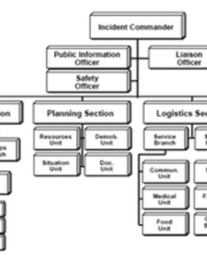 Diagram of the ics organizational chart also security and emergency management an information briefing for rh fhwat