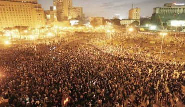 Tahrir (Liberation) Square on January 25, 2011