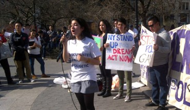 A dozen young people came out as undocumented immigrants