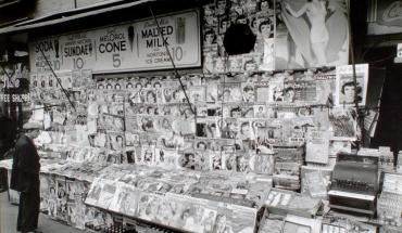 old nyc newstand