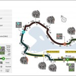 Australian Grand Prix Circuit Map