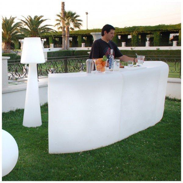Mobiliario de luz para la decoracin de terrazas