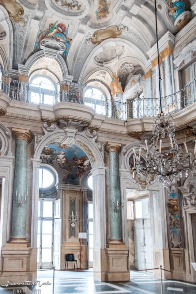 Salone centrale villa della regina torino