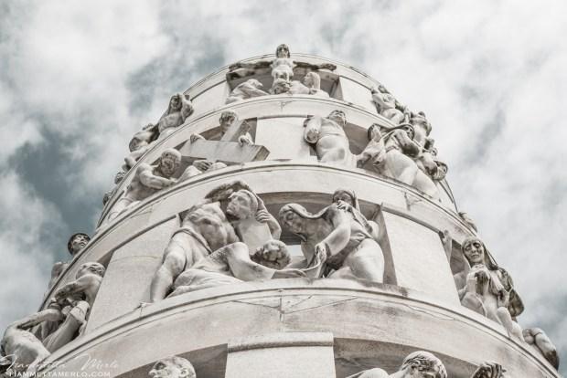 Monumento di Antonio Bernocchi - Cimitero Monumentale di Milano