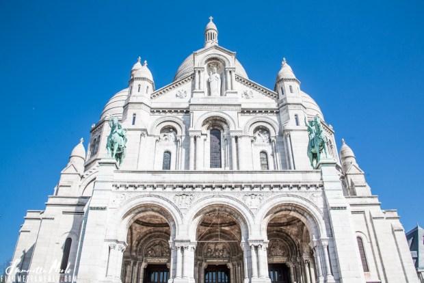 Basilica del Sacro Cuore a Montmartre Parigi