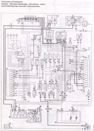 Schaltplan Von Fiat Uno