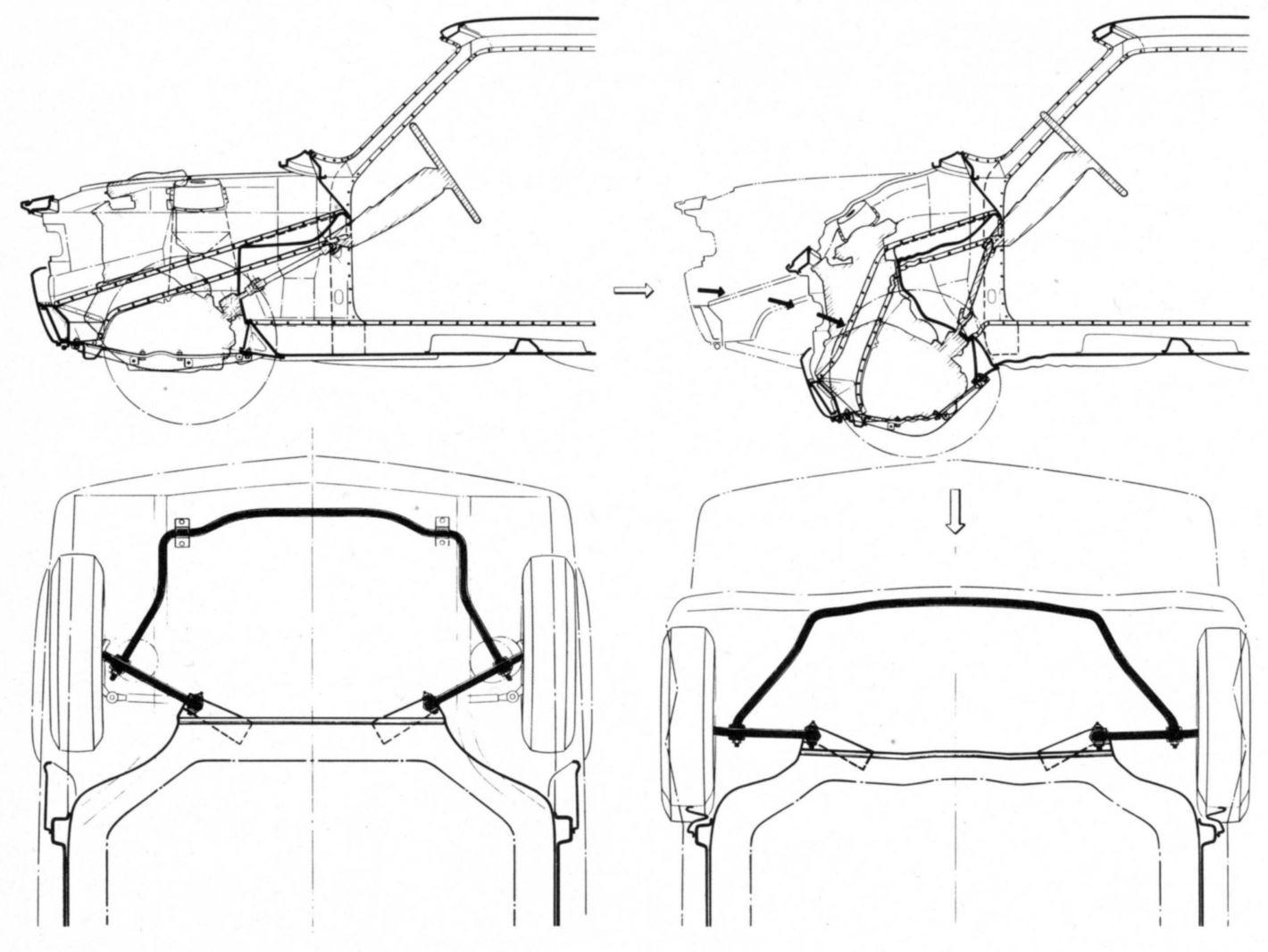 Le caratteristiche tecniche e le gamme colori della Fiat 128