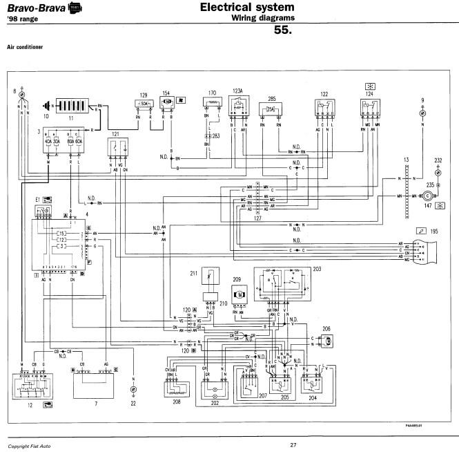 fiat stilo wiring diagrams torzone org auto diagram  fiat