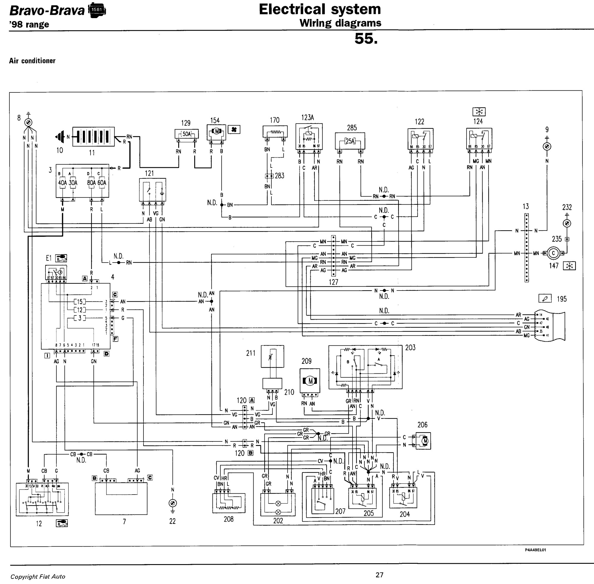hight resolution of fiat stilo 1 6 fuse box wiring library fiat croma wiring diagram