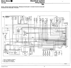 Technical: Brava 16 16v wiring diagram  The FIAT Forum