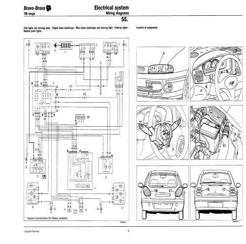 small resolution of fiat bravo wiring diagram