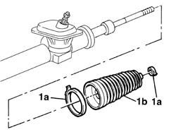 Technical: 100HP Steering: Inner tie-rod to rack-end