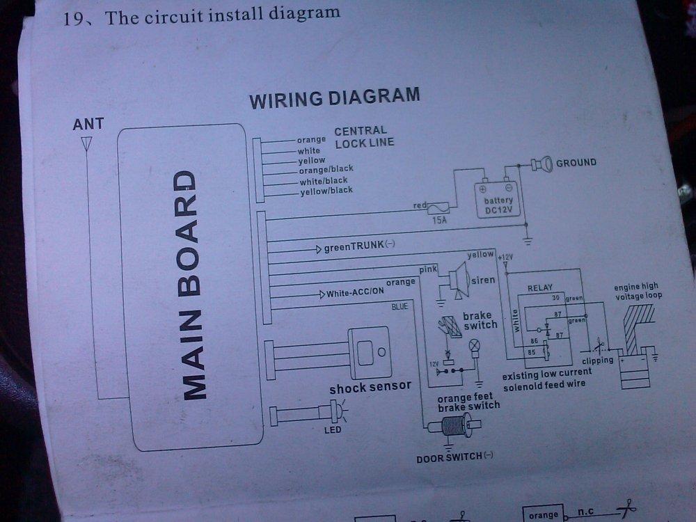 medium resolution of technical help wiring up remote locking the fiat forum rh fiatforum com fiat 124 spider body