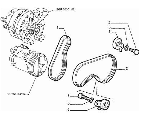 Fiat A C Compressor, Fiat, Free Engine Image For User