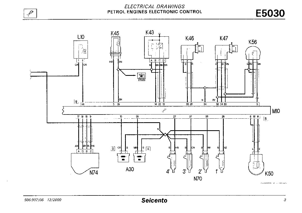 fiat stilo wiring diagram 6 pin cdi unit technical seicento coilpack the forum