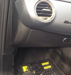 next to the glovebox on the left is a plastic panel trim this is coming away next [ 3264 x 2448 Pixel ]