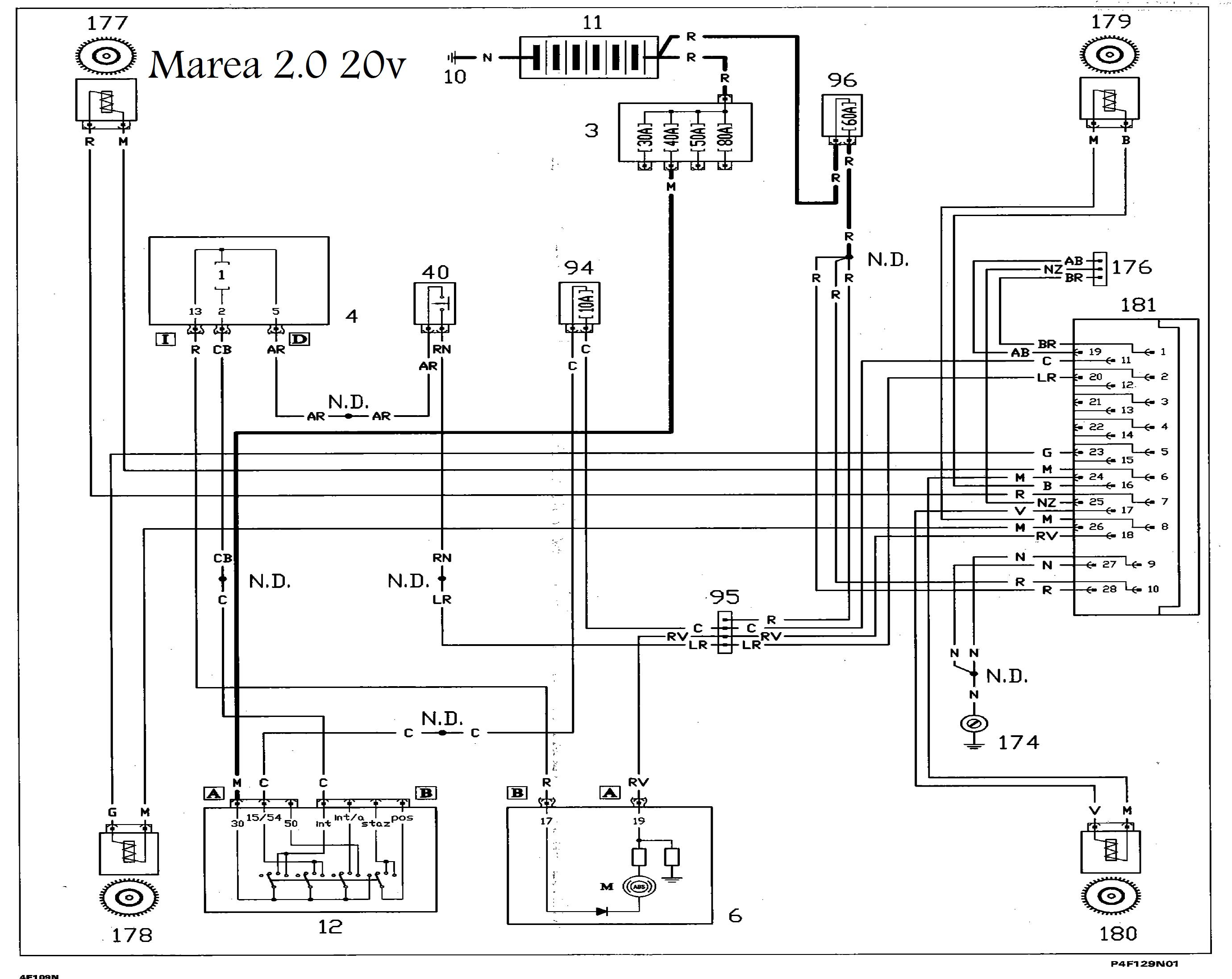 fiat punto wiring diagram for stereo