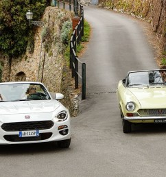fiat 124 spider celebrates its 50th anniversary [ 4724 x 3148 Pixel ]
