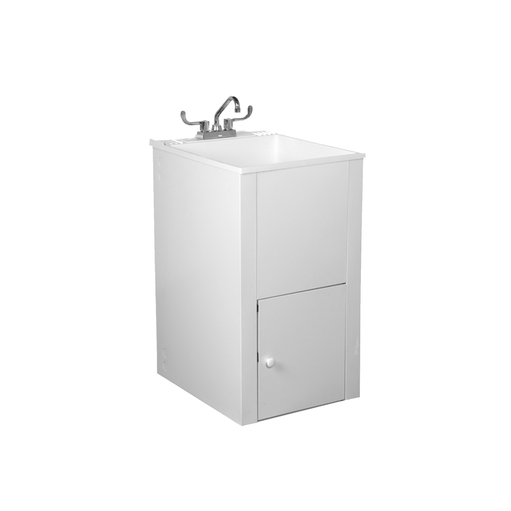L5 Appliance Depth Laundry Tub with Cabinet  Laundry Sink