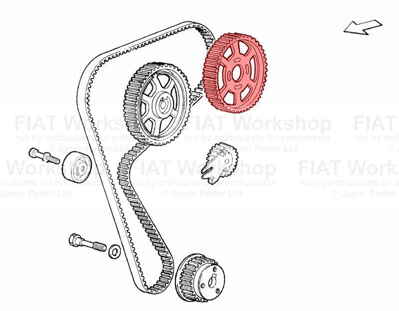 Fiat Punto Cam belt idlers/tensioners