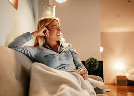 smart lighting examples home
