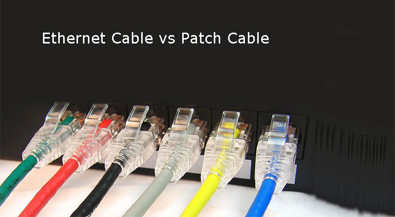 Patch Cable Patch Cord Or Jumper Cable Is An Eight Wire Cable That