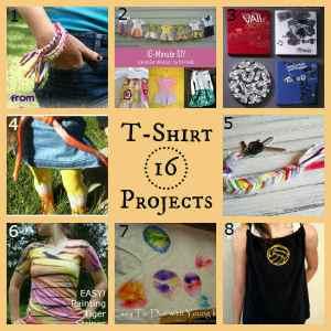 16 Fun Tee Shirt Projects!