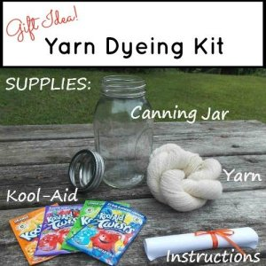 Easy Kool Aid Yarn Dyeing Kit – Great Gift Idea!