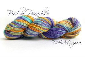 Yarn of the Month! Bird of Paradise